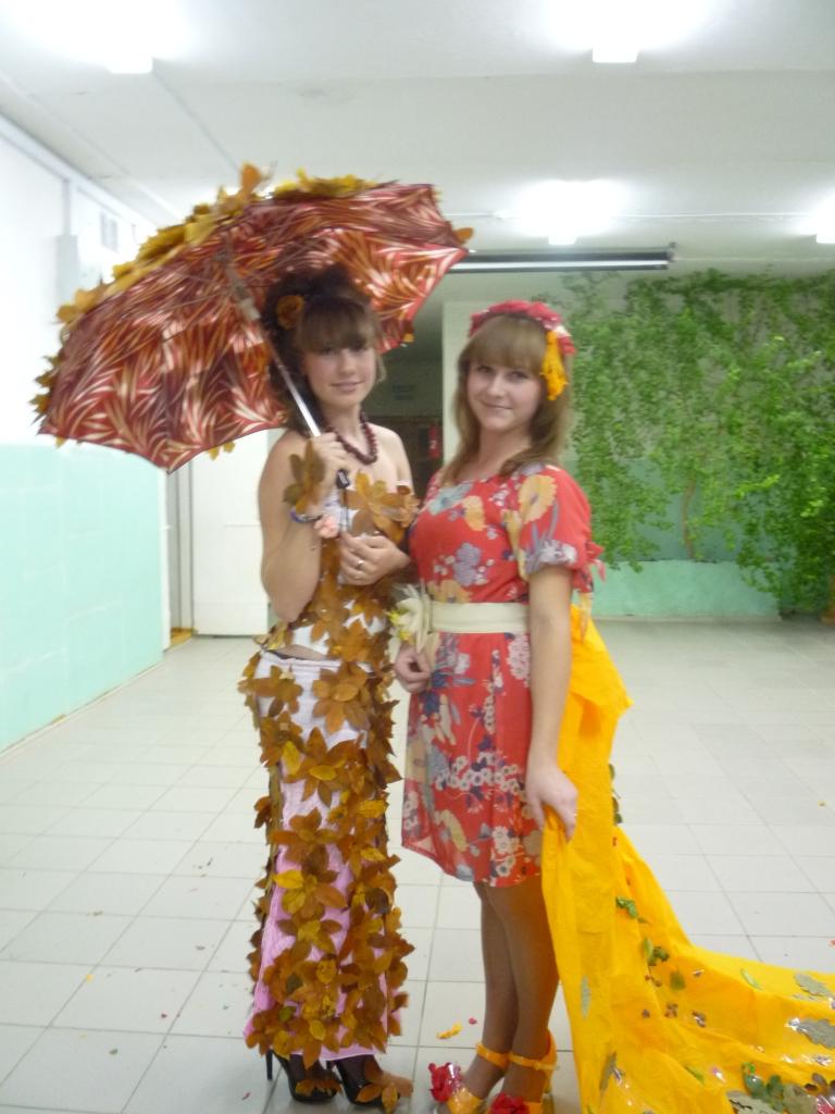 Детское платье на осенний бал своими руками 25